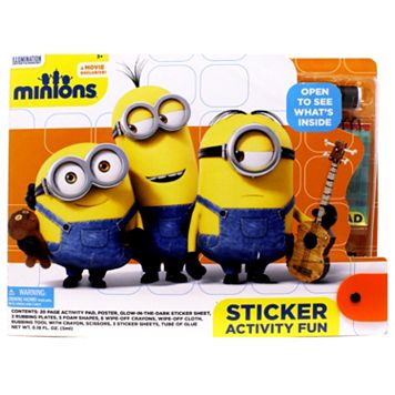 Minions Large Sticker Activity Fun Set