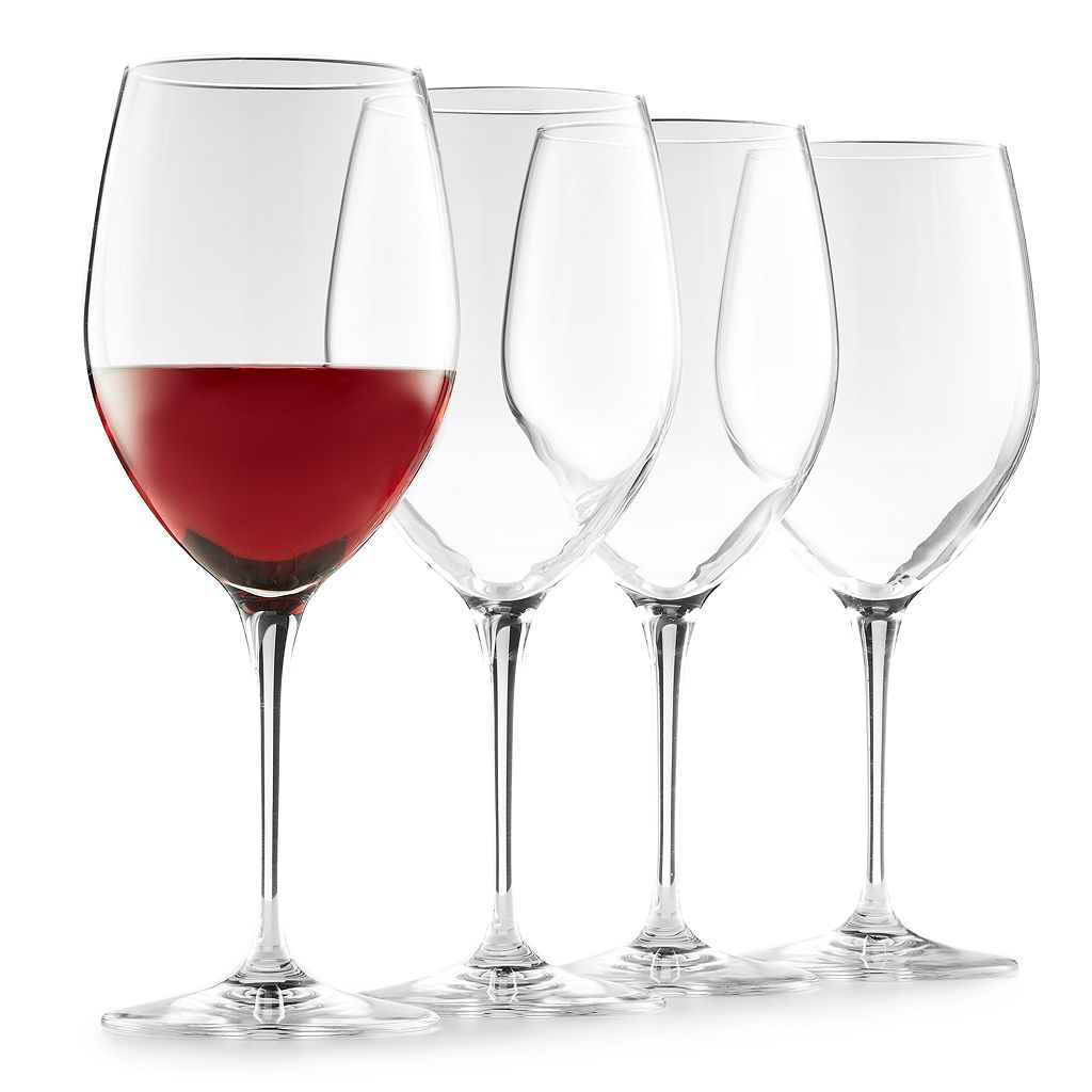 Food Network™ Signature 4-pc. Crystal Red Wine Glass Set