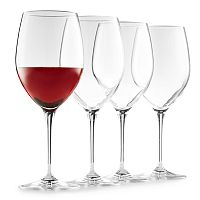 Food Network™ Signature 4 pc Crystal Red Wine Glass Set