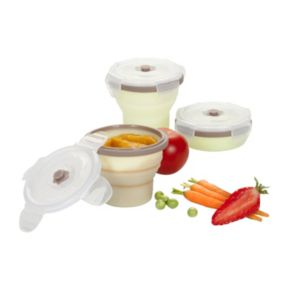 Babymoov 3-pk. Stackable & Foldable Containers Set
