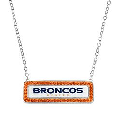 Denver Broncos Bar Link Necklace