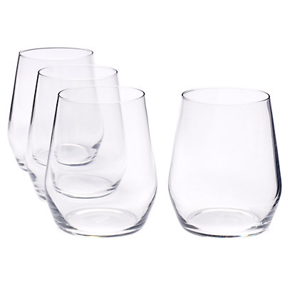 Food Network? Signature 4-pc. Crystal Stemless Red Wine Glass Set