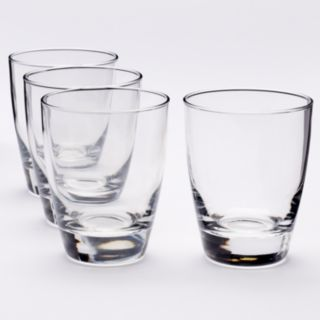 Food Network? Signature 4-pc. Crystal Double-Old Fashioned Glass Set