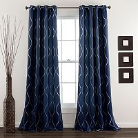 Lush Decor Swirl 2-pk. Room Darkening Window Curtains - 52'' x 84''
