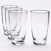 Food Network™ Signature 4 pc Crystal Highball Glass Set