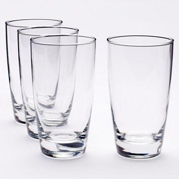 Food Network™ Signature 4-pc. Crystal Highball Glass Set