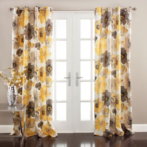 Lush Decor Leah 2-pk. Room Darkening Curtains - 52'' x 84''