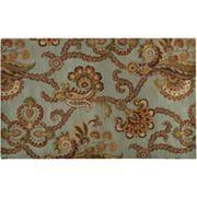 Artisan Weaver Auburn Floral Wool Rug