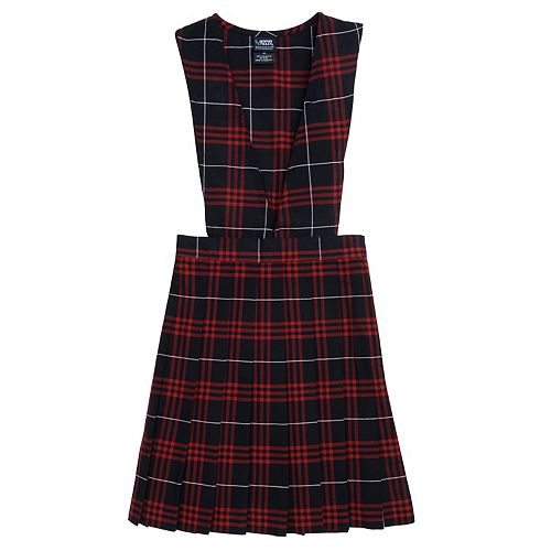Girls 4-20 & Plus Size French Toast School Uniform Plaid Pleated Jumper