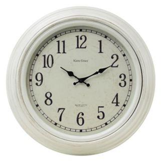 Kiera Grace Emmerson Round Wall Clock