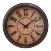 Kiera Grace Distressed Wall Clock