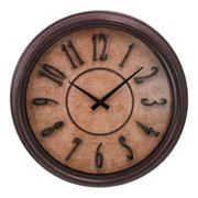 Kiera Grace Distressed Wall Clock