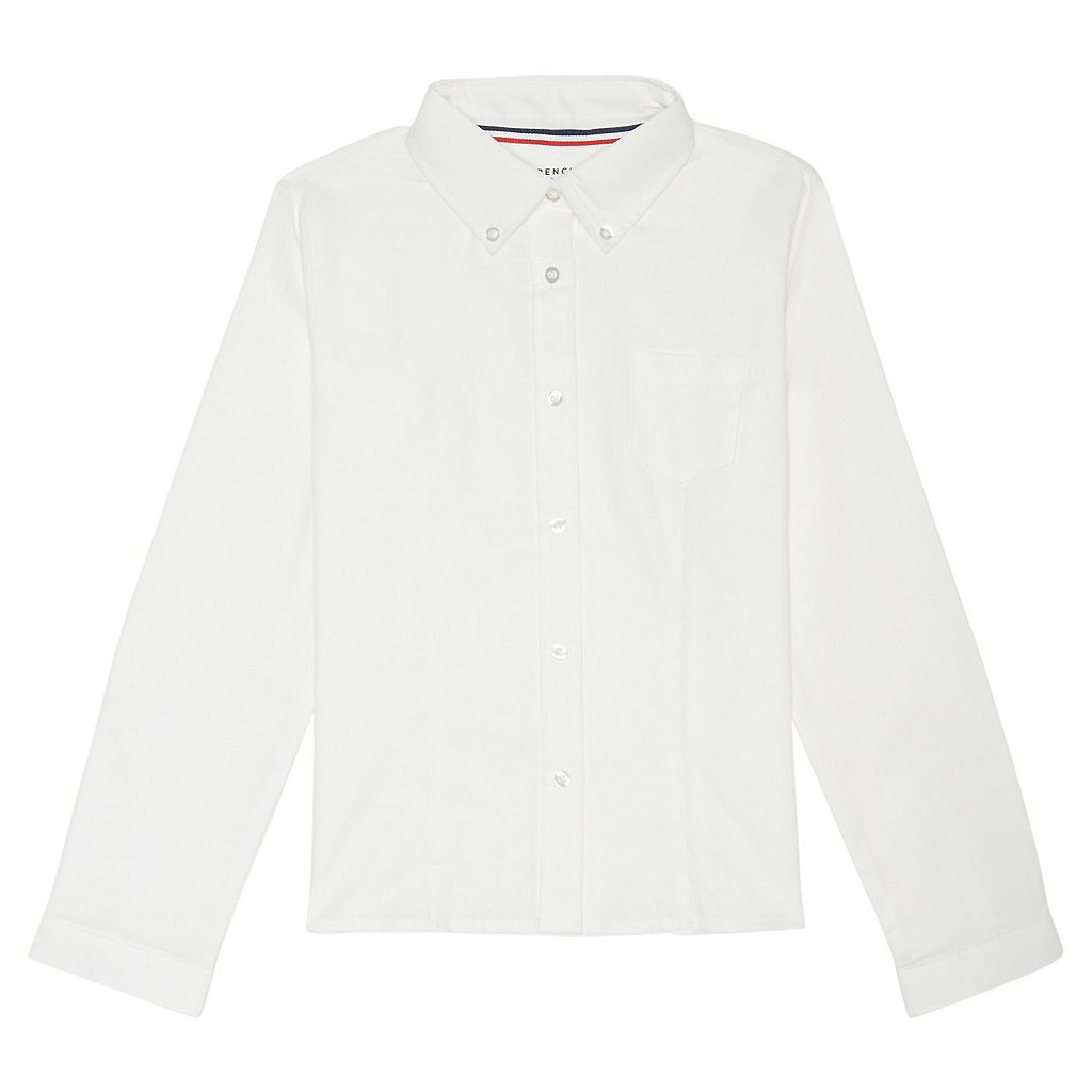 Girls 4-20 & Plus Size French Toast Long Sleeve School Uniform Oxford Top