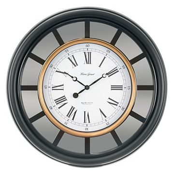 Kiera Grace Mirrored Wall Clock