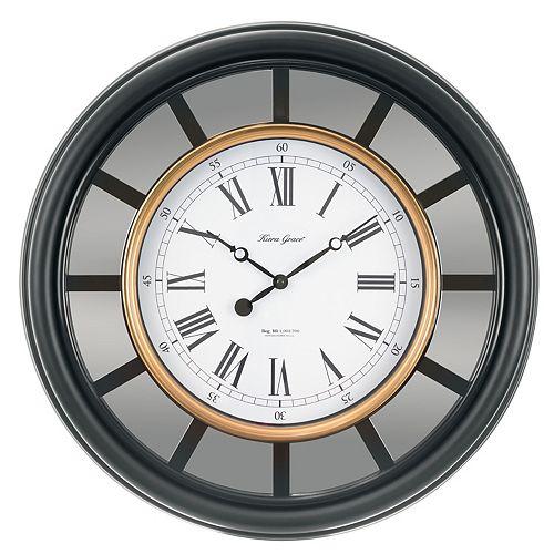 kiera grace mirrored wall clock - Mirrored Wall Clock