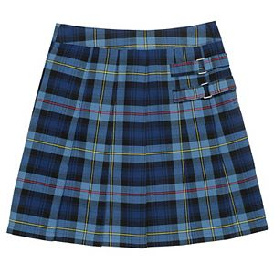 f7f4974e796 Girls 4-16   Plus Chaps Pleated School Uniform Button-Accent Skort. (13).  Sale