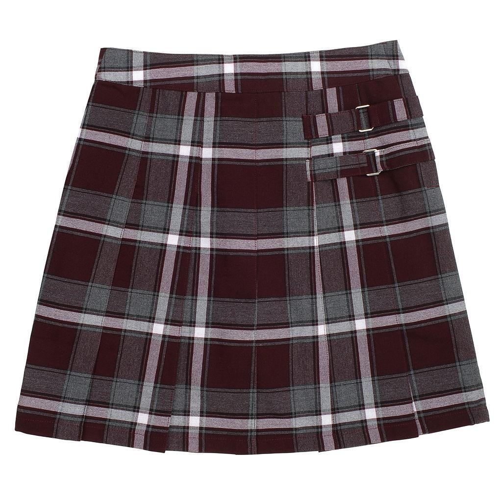 Girls 4-20 & Plus Size French Toast School Uniform Pleated Plaid Skort