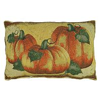 Park B. Smith Crackling Pumpkin Throw Pillow