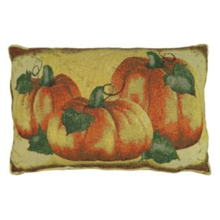 Park B. Smith Crackling Pumpkin Throw Pillow