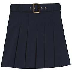Girls 4-20 & Plus Size French Toast School Uniform Belt Pleated Skort