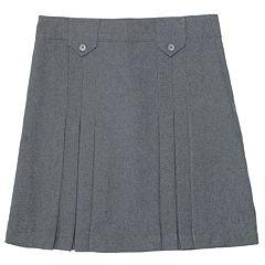 Girls 4-20 & Plus Size French Toast School Uniform Triple Pleated Skirt