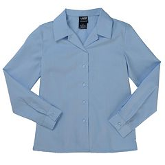 Girls 7-20 French Toast School Uniform Long Sleeve Poplin Top