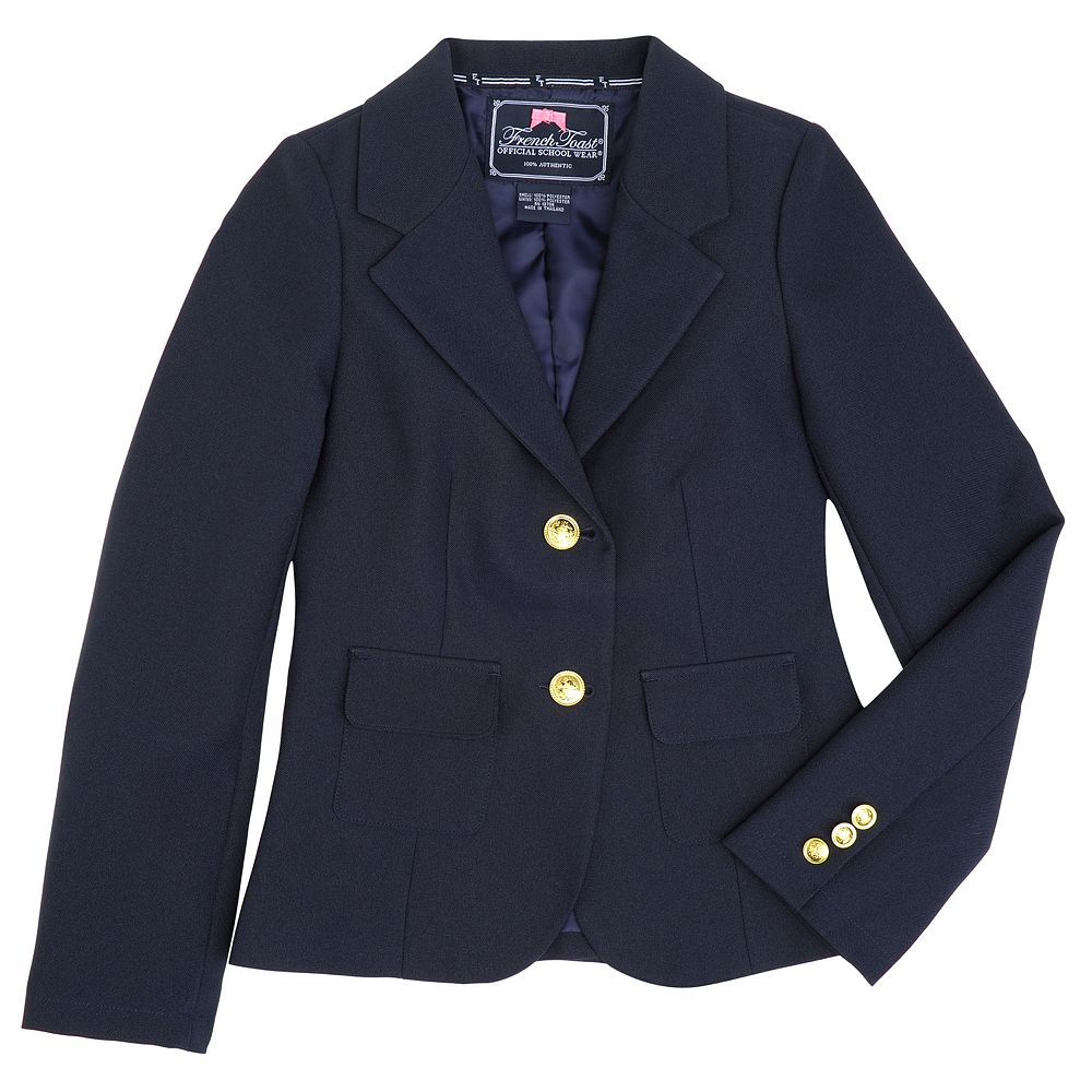 French Toast School Uniform Girls Active Jacket Hoodie