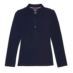 Girls 4-20 & Plus Size French Toast School Uniform Pique Polo Shirt