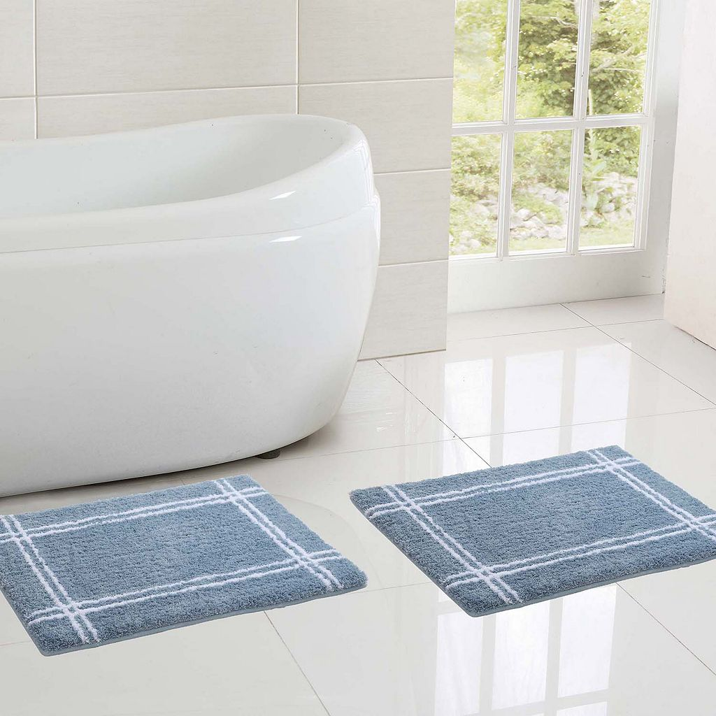 VCNY Clark Hotel 2-pc. Memory Foam Bath Rug Set