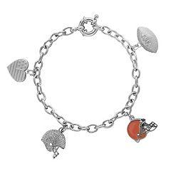 Cleveland Browns Charm Bracelet
