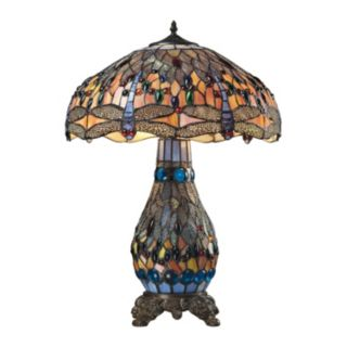 Dimond Dragonfly Tiffany Table Lamp