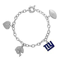 New York Giants Charm Bracelet