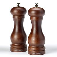 Cole & Mason Forest Capstan 2 pc Salt & Pepper Mill Set
