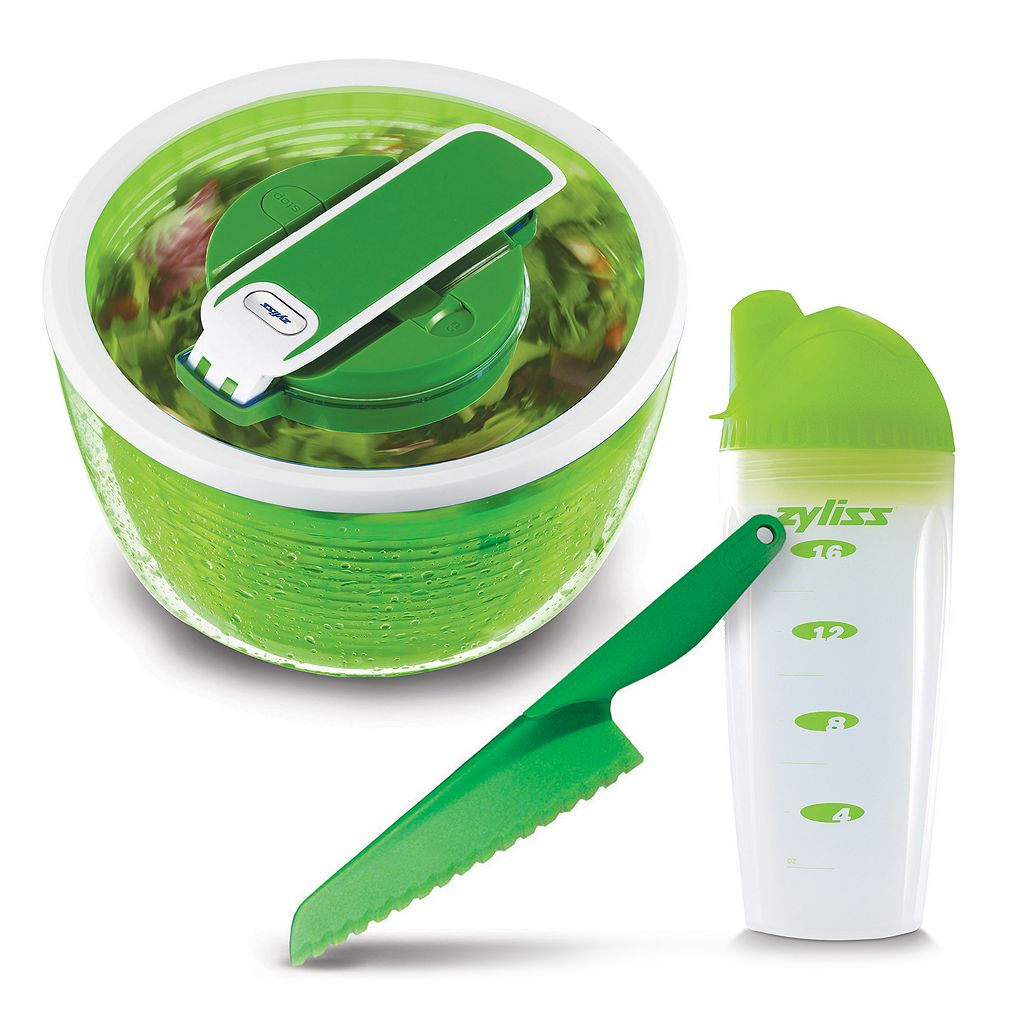 Zyliss 3-pc. Healthy Living Salad Making Set