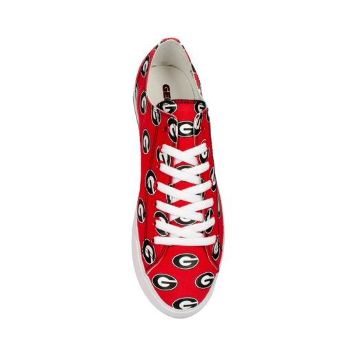 Adult Row One Georgia Bulldogs Victory Sneakers