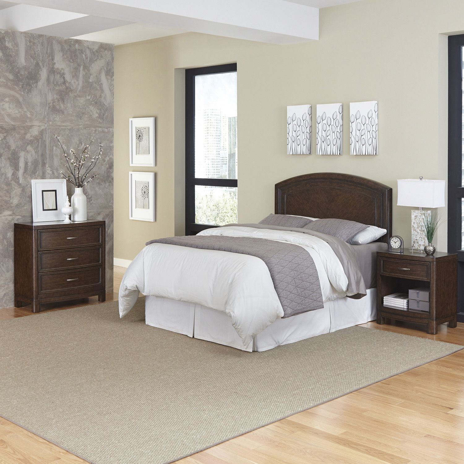 Lovely Home Styles Crescent Hill piece Bedroom Set