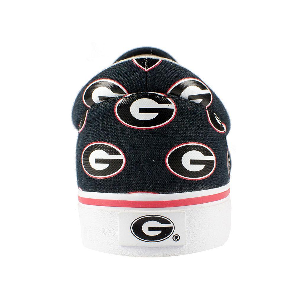 Adult Row One Georgia Bulldogs Rival Sneakers