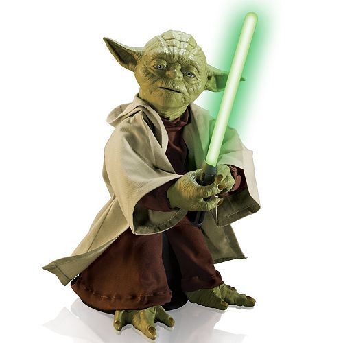 Star Wars Legendary Yoda Interactive Toy by Spin Master