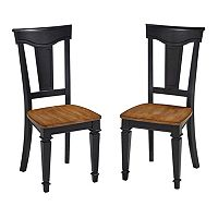 Home Styles Americana 2 pc Dining Chair Set