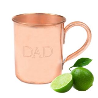 """Cathy's Concepts """"Dad"""" 17-oz. Copper Moscow Mule Mug"""