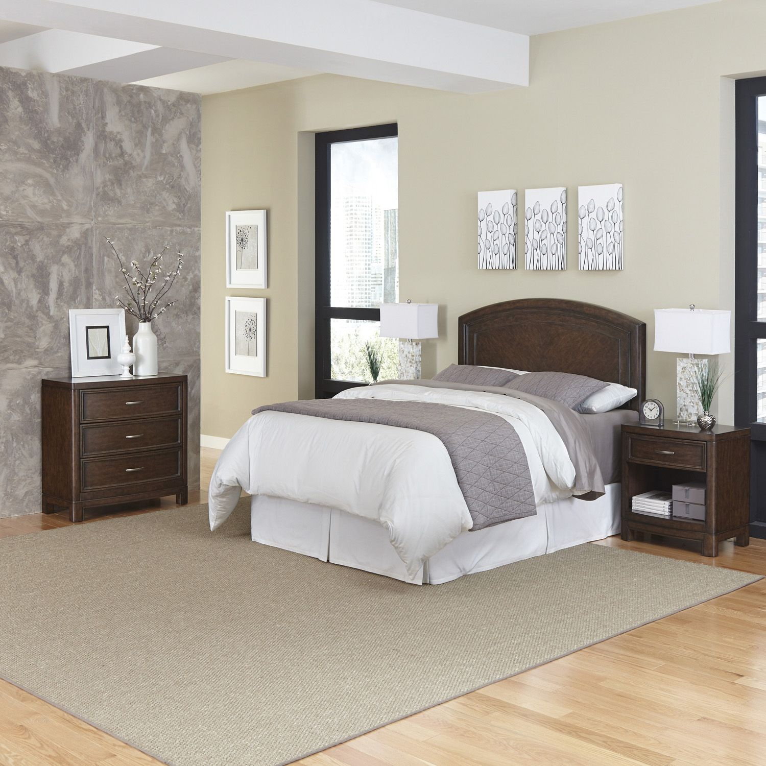 Stunning Home Styles Crescent Hill piece Bedroom Set
