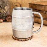 "Cathy's Concepts ""Dad"" 14-oz. Insulated Keg Mug"