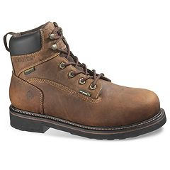 Wolverine Brek Men's Waterproof Steel-Toe 6 in Work Boots