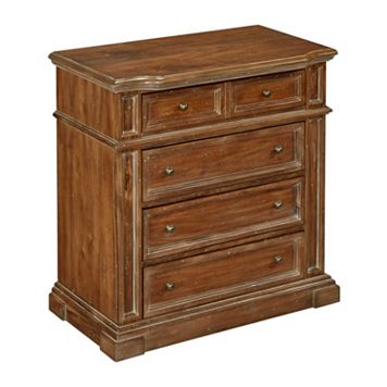 Home Styles Americana Vintage 4-Drawer Chest