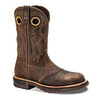 Rocky Original Ride Men's Steel-Toe Western Work Boots