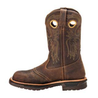 Rocky Original Ride Men's Steel-Toe Western Work Boots