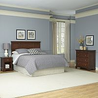 Home Styles 3 pc Chesapeake Bedroom Set