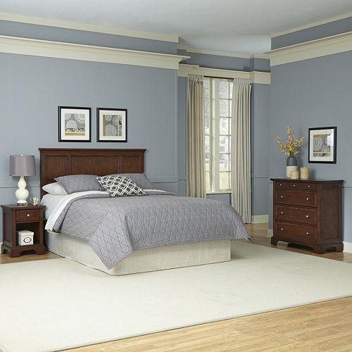 Home Styles 3-piece Chesapeake Bedroom Set