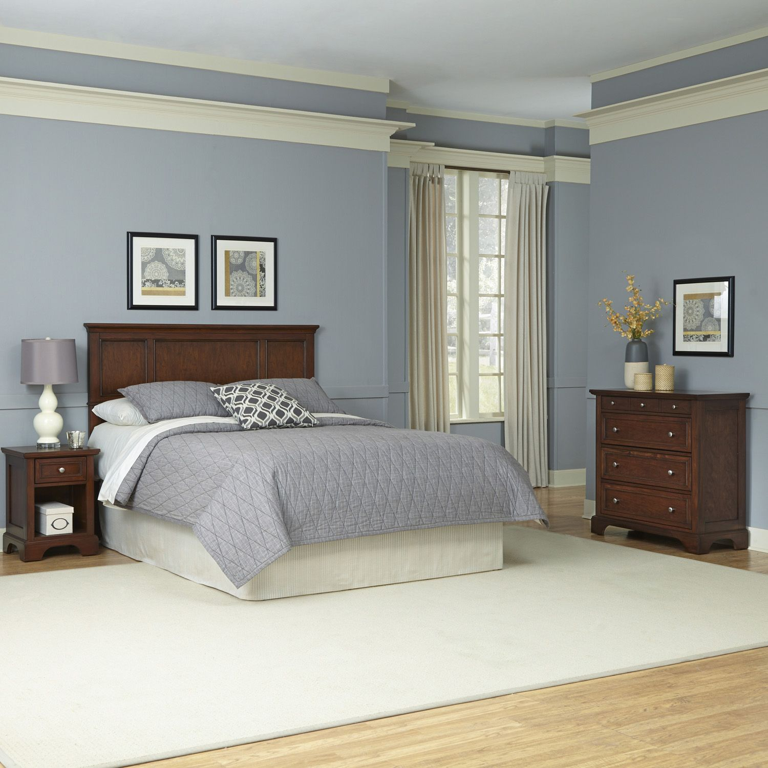 Marvelous Home Styles piece Chesapeake Bedroom Set