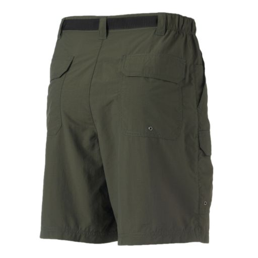 Men's Croft & Barrow® Synthetic Side Elastic Belted Cargo Shorts